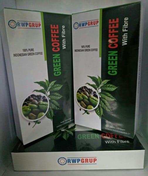 Green Coffee + Fibre RWP