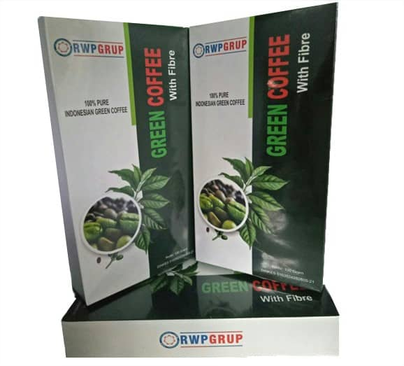 RWP Green coffe with fiber