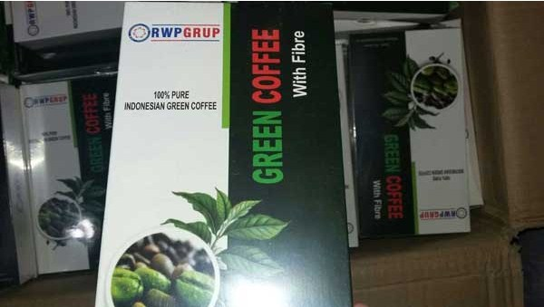 green coffe with fibre